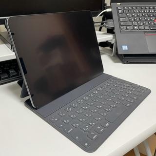 アイパッド(iPad)のiPad Pro 11インチ & Smartkeyboard wifi 256G(タブレット)
