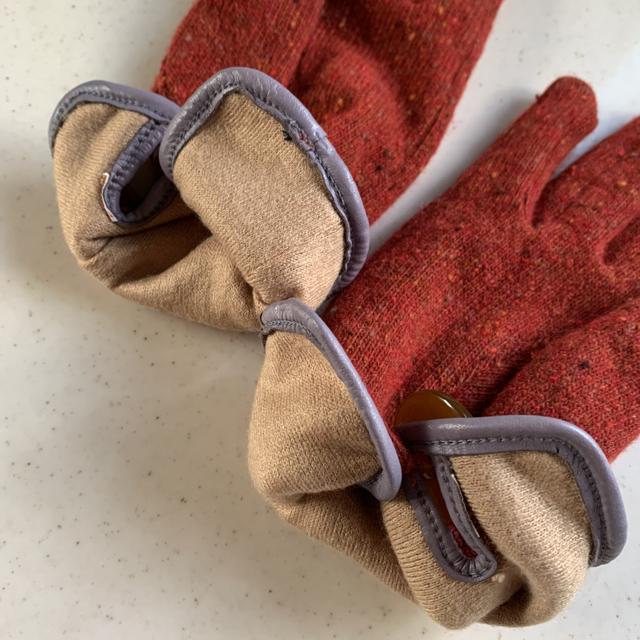 Vivienne Westwood(ヴィヴィアンウエストウッド)のヴィヴィアンウエストウッド ニット 手袋 グローブ レディースのファッション小物(手袋)の商品写真