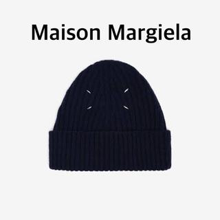 Maison Martin Margiela - メゾンマルジェラ  maison margiela ビーニー ニット帽 黒