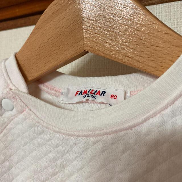 familiar(ファミリア)のファミリア ロンパース 80 キッズ/ベビー/マタニティのベビー服(~85cm)(ロンパース)の商品写真