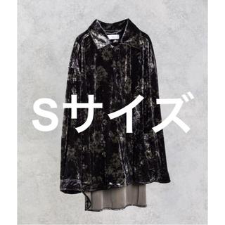 ステュディオス(STUDIOUS)のADRER 420枚限定 ヴィンテージフラワーベロアシャツ(シャツ)