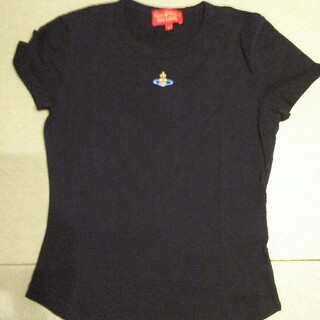 ヴィヴィアンウエストウッド(Vivienne Westwood)の新品 vivian westwood ヴィヴィアン Tシャツ 黒 ワンポイント(Tシャツ(半袖/袖なし))