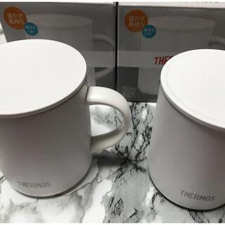 サーモス(THERMOS)のTHERMOS サーモス 保温保冷 マグカップ 2個セット ホワイト(グラス/カップ)