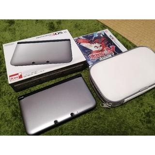 ニンテンドウ(任天堂)のNintendo 3DS  LL 本体 シルバー/ブラック(携帯用ゲーム機本体)
