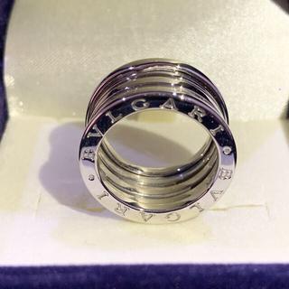 ブルガリ(BVLGARI)のBVLGARI ビーゼロワン 4バンドリング 11.5号 52 K18WG 指輪(リング(指輪))