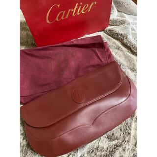 カルティエ(Cartier)の【Cartier】美品 カルティエ マスト クラッチバッグ (クラッチバッグ)