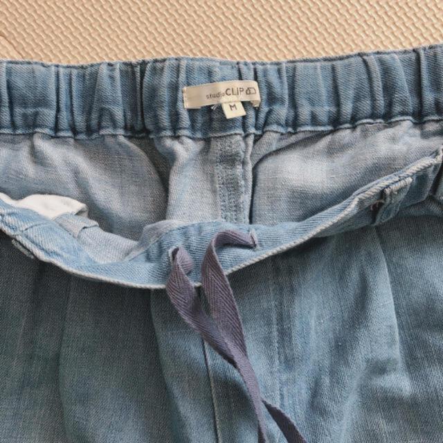 STUDIO CLIP(スタディオクリップ)のテーパードデニムパンツ レディースのパンツ(デニム/ジーンズ)の商品写真
