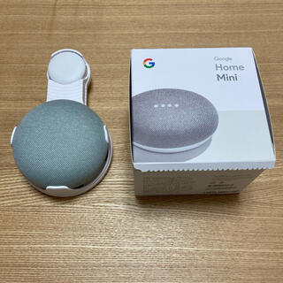 アップル(Apple)のGoogle home Mini ホルダー付き(スピーカー)
