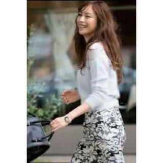 ジャスグリッティー(JUSGLITTY)のJUSGLITTY♡ 刺繍チェックタイトスカート(ひざ丈スカート)