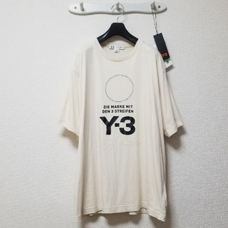 Y-3 - Y-3 STACKED LOGO TEE