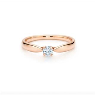Tiffany & Co. - 美品 k18PG PT950ティファニー ハーモニーダイヤモンドリング