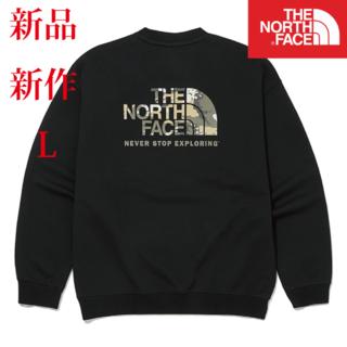 THE NORTH FACE - 新品 新作【海外限定】ザ ノース フェイス スウェット 背面 ビックロゴ L
