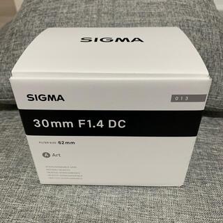 シグマ(SIGMA)のSIGMA 30mm F1.4 DC CANON Artライン(レンズ(単焦点))
