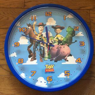 ディズニー(Disney)のトイストーリー 壁掛け時計 未使用品(掛時計/柱時計)