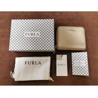 Furla - FURLA 2つ折り財布 バビロン ゴールド