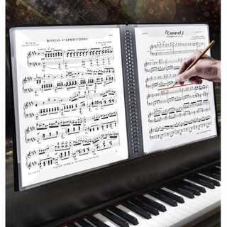 60P 楽譜ノート 楽譜用ファイル 楽譜ファイル A4ファイル クリアファイ(その他)