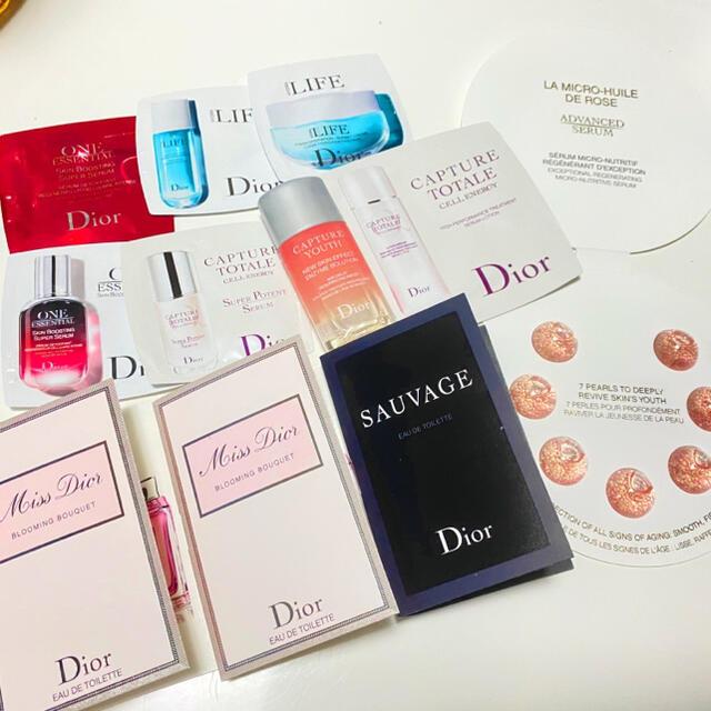 Dior(ディオール)のDior プレステージ マイクロユイルドローズセラム セット コスメ/美容のキット/セット(サンプル/トライアルキット)の商品写真