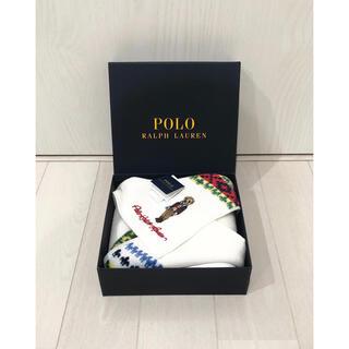 POLO RALPH LAUREN - 新品タグ付き【POLO Ralph Lauren】タオルハンカチ