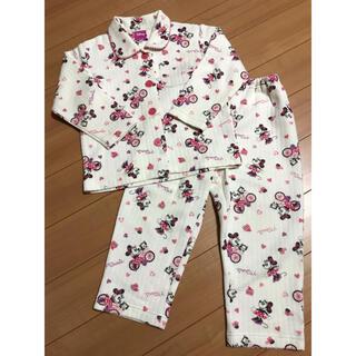 ディズニー(Disney)のパジャマ 女の子 ミニーちゃん 100cm(パジャマ)