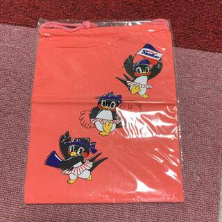 トウキョウヤクルトスワローズ(東京ヤクルトスワローズ)のレトロ ヤクルト スワローズ 巾着袋(記念品/関連グッズ)