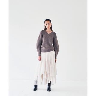 FRAY I.D - 新品タグ付未使用 CASA FLINE コットンティアードスカート
