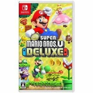 ニンテンドースイッチ(Nintendo Switch)のNintendo Switch NEW スーパーマリオブラザーズ U デラックス(携帯用ゲームソフト)