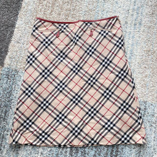 BURBERRY BLUE LABEL - BURBERRY バーバリー ノバチェック スカート