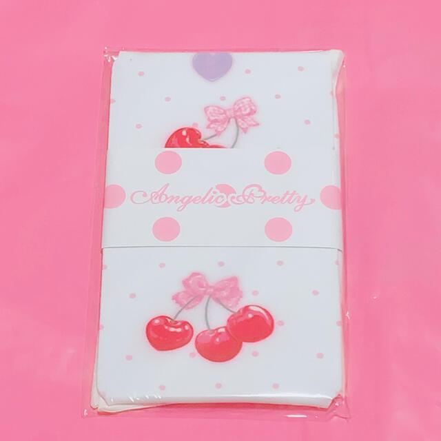 Angelic Pretty(アンジェリックプリティー)のWrapping Cherry タイツ レディースのレッグウェア(タイツ/ストッキング)の商品写真