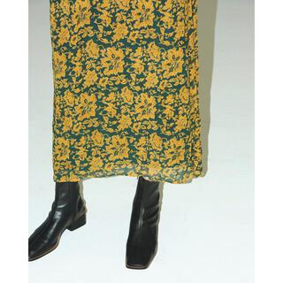 TODAYFUL - TODAYFUL Georgette Leaf Dress