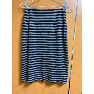 レトロガール(RETRO GIRL)のボーダータイトスカート ボーダースカート(ひざ丈スカート)
