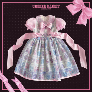 Angelic Pretty - chocker rabbit full set