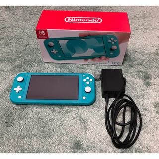 Nintendo Switch - Nintendo Switch  Lite ターコイズ 中古品