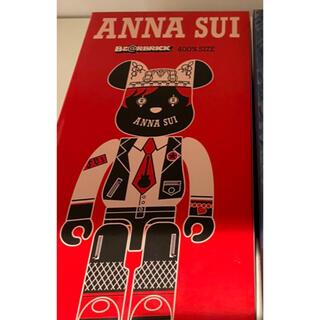 メディコムトイ(MEDICOM TOY)のBE@RBRICK ANNA SUI RED&BEIGE 400%(その他)