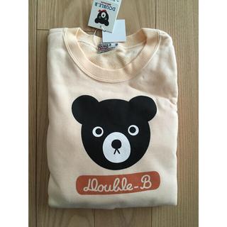 ダブルビー(DOUBLE.B)の【未使用品】ダブルB トレーナー130(Tシャツ/カットソー)