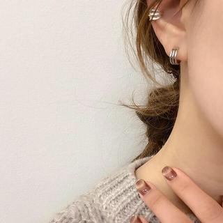 UNITED ARROWS - silver925 mini curve pirce-silver-