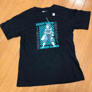 ジーユー(GU)の鬼滅の刃 新品未使用タグ付き GU   炭治郎 150  半袖 Tシャツ(Tシャツ/カットソー)