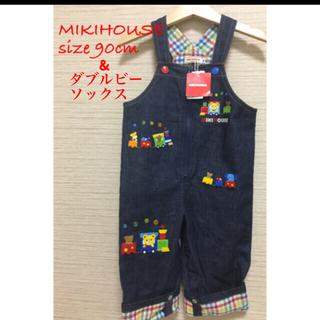 mikihouse - ミキハウス オーバーオール 90cm
