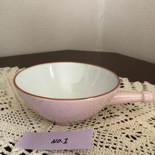 ヴィンテージ/スープカップNo.1/ 淡いピンク色/ 西ドイツ(陶芸)