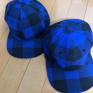 ジーユー(GU)のgu キッズキャップ 2個セット(帽子)