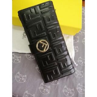 FENDI - ♥美品 Fendi /フェンデイ 財布/箱付き、黒