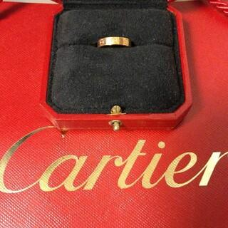 Cartier - カルティエ ラブリング    ピンクゴールド7号