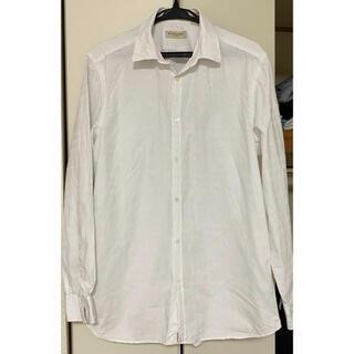 バーバリー(BURBERRY)のバーバリーロンドン 長袖シャツ ホワイト 41(シャツ)