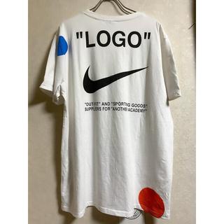 OFF-WHITE - 美品 SIZELナイキ オフホワイト ラボ ホワイト Tシャツ