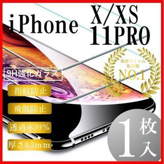 iPhone11用1枚(保護フィルム)