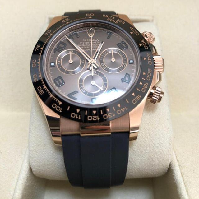 ROLEX(ロレックス)の【Rolex】ロレックス デイトナ 116515ln チョコブラウン アラビア4 メンズの時計(腕時計(アナログ))の商品写真