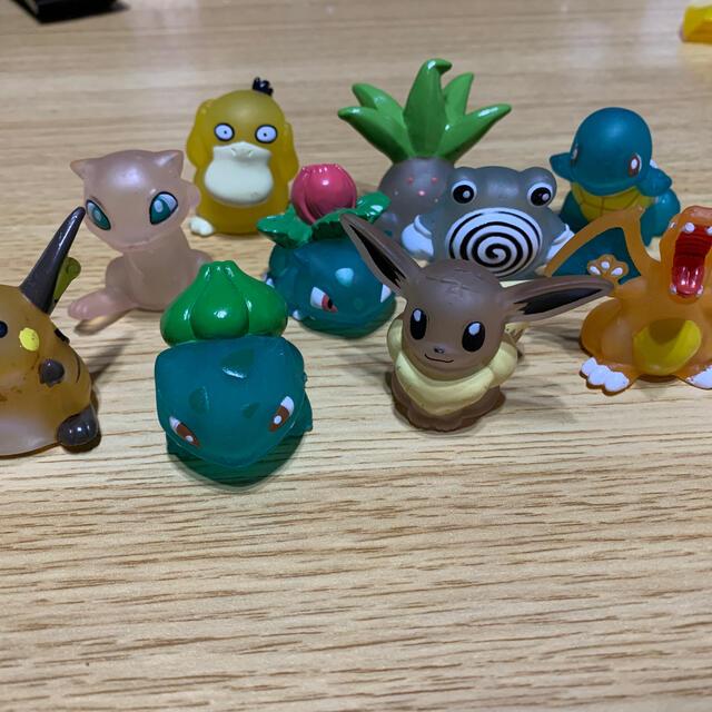 ポケモン(ポケモン)の指人形 エンタメ/ホビーのおもちゃ/ぬいぐるみ(キャラクターグッズ)の商品写真