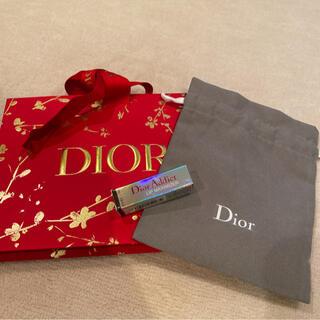 Dior - ディオール ミニマキシマイザー、巾着、限定ギフトバッグ