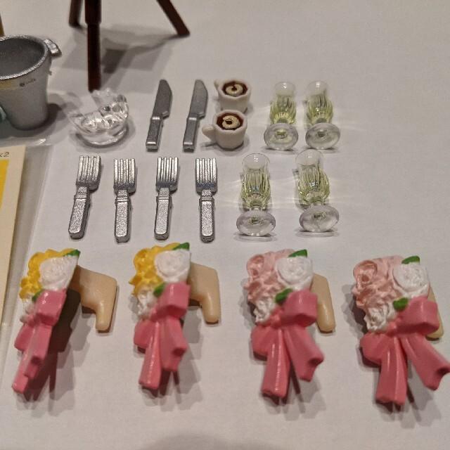 EPOCH(エポック)のシルバニア パーティーレストランセット 小物 エンタメ/ホビーのおもちゃ/ぬいぐるみ(キャラクターグッズ)の商品写真