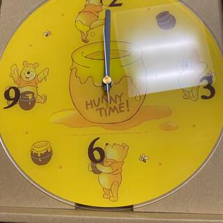 ディズニー(Disney)のハニープー 壁掛け時計 ディズニー レア(掛時計/柱時計)