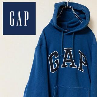 GAP - old GAP ギャップ 90年代 古着 パーカー デカロゴ プルオーバー